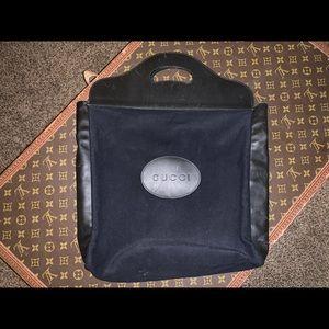 Authentic Gucci supreme shopper tote satchel bag